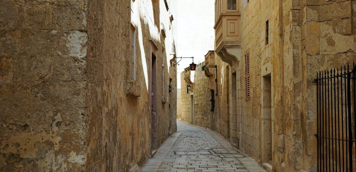 De oude hoofdstad van Malta, Mdina